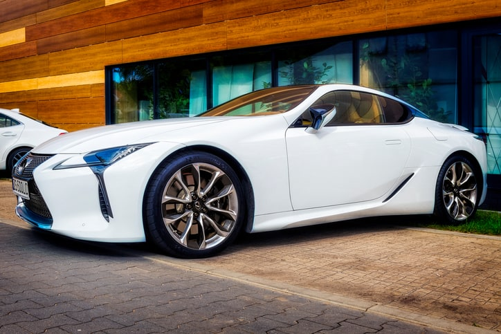 The Toyota Lexus LC 500